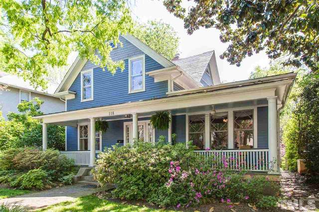 118 Hillcrest Road, Raleigh, NC 27605 (#2313863) :: Sara Kate Homes