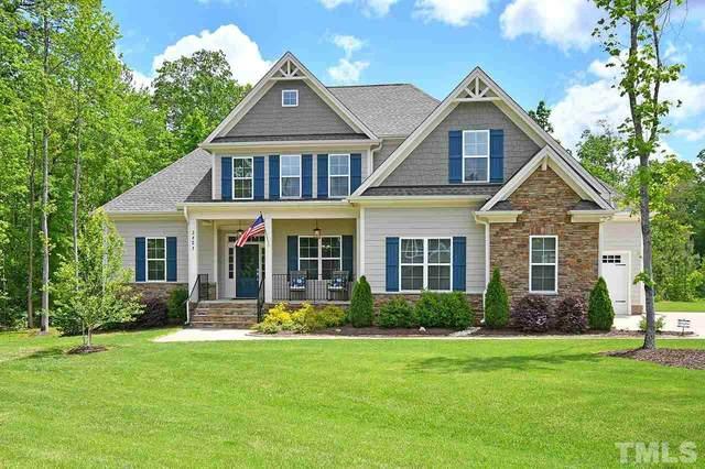 3821 Pickett Court, Wake Forest, NC 27587 (#2317278) :: Dogwood Properties