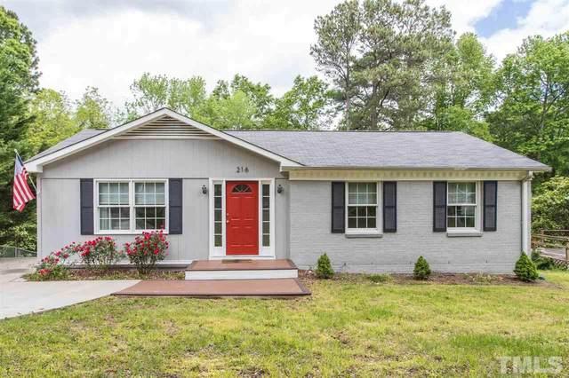 216 Northclift Drive, Raleigh, NC 27609 (#2317802) :: Dogwood Properties
