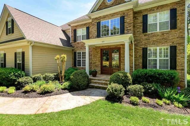 4313 Summer Brook Drive, Apex, NC 27539 (#2317930) :: Dogwood Properties