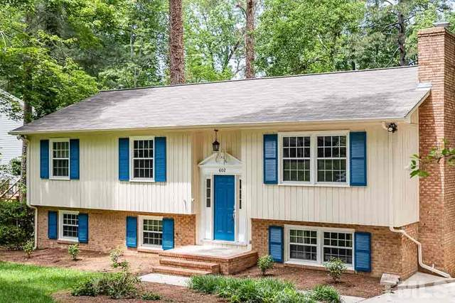 602 Yorktown Drive, Chapel Hill, NC 27516 (#2319283) :: Raleigh Cary Realty