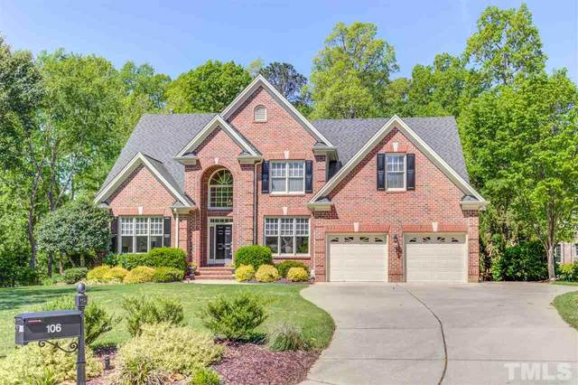 106 Arrowstone Court, Morrisville, NC 27560 (#2321304) :: Triangle Just Listed