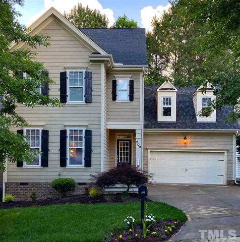 209 Thorndale Drive, Holly Springs, NC 27540 (#2322122) :: Rachel Kendall Team