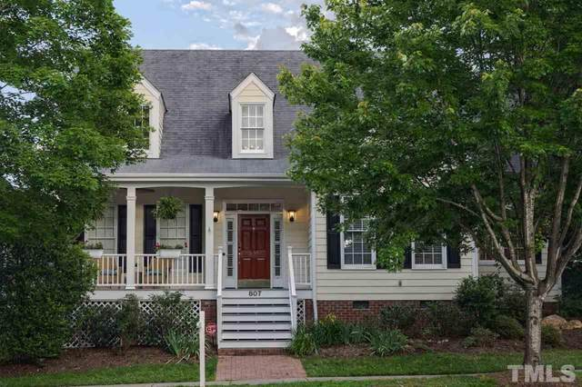 807 Edgewater Circle, Chapel Hill, NC 27516 (#2322227) :: Real Estate By Design