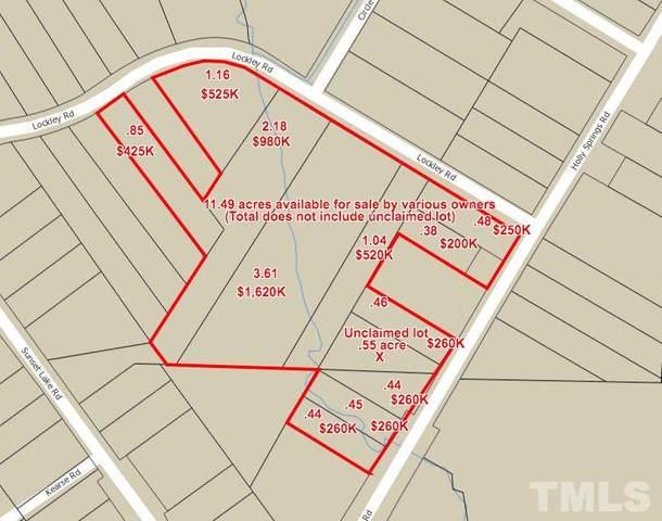 9748 Holly Springs Road, Apex, NC 27539 (#2322510) :: Dogwood Properties
