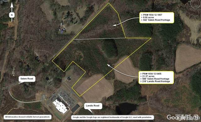 28+ Acres Salem Road, Oxford, NC 27565 (#2322747) :: Raleigh Cary Realty