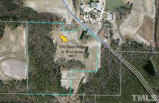 3252 Elliott Bridge Road, Bunnlevel, NC 28323 (#2322925) :: Raleigh Cary Realty