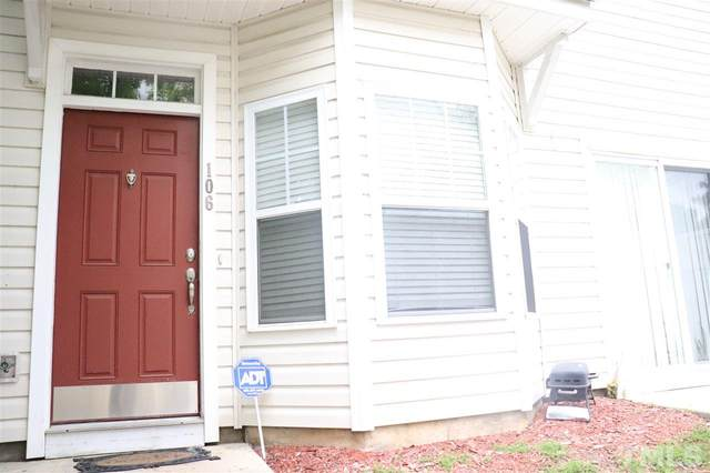 340 Gilman Lane #106, Raleigh, NC 27610 (#2326703) :: The Rodney Carroll Team with Hometowne Realty