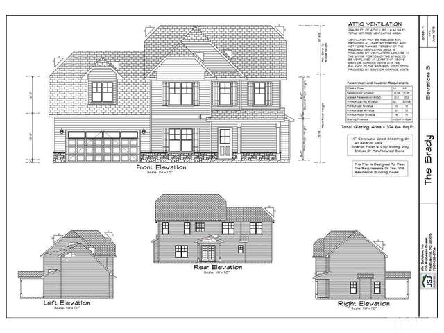 86 Caboose Lane Lot 10 Brady B, Clayton, NC 27520 (#2326876) :: The Jim Allen Group
