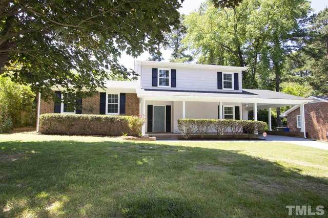 1004 Indian Trail Drive, Raleigh, NC 27609 (#2327762) :: The Rodney Carroll Team with Hometowne Realty