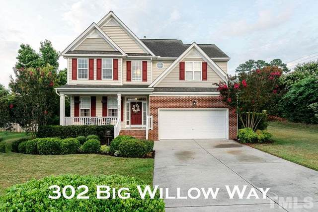 302 Big Willow Way, Rolesville, NC 27571 (#2332609) :: Marti Hampton Team brokered by eXp Realty