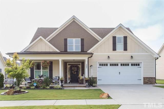 125 Plantation Drive, Youngsville, NC 27596 (#2333815) :: Dogwood Properties