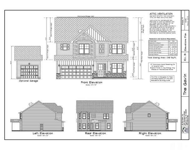 129 Caboose Lane Lot 6 The Gavin, Clayton, NC 27520 (#2335193) :: Triangle Top Choice Realty, LLC