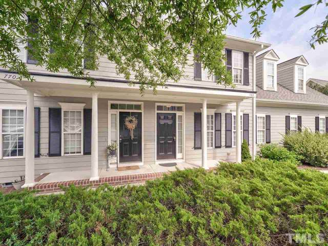 766 Parkside Townes Court, Wake Forest, NC 27587 (#2335912) :: Rachel Kendall Team