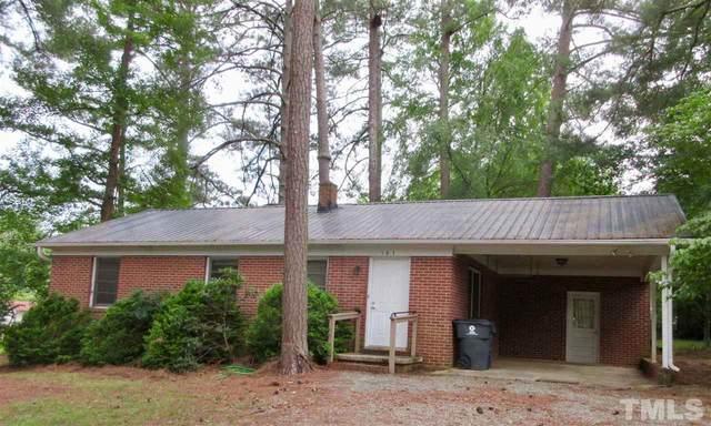 161 Davie Street, Pittsboro, NC 27312 (#2336139) :: Real Estate By Design