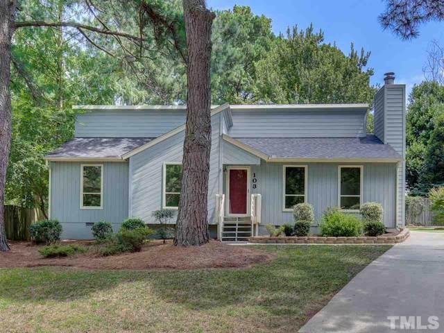 103 Glen Bonnie Lane, Cary, NC 27511 (#2336222) :: Spotlight Realty