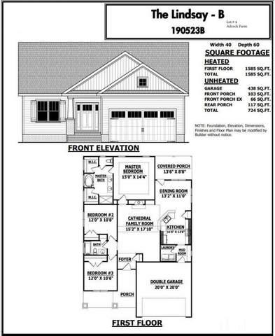 791 Grameta Lane, Lillington, NC 27546 (#2336896) :: Real Estate By Design