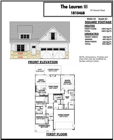 55 C P Stewart Road, Lillington, NC 27546 (#2339487) :: Sara Kate Homes