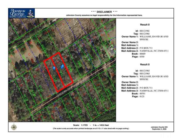 Lot 31 & 32 Doras Road, Four Oaks, NC 27524 (#2341290) :: The Rodney Carroll Team with Hometowne Realty