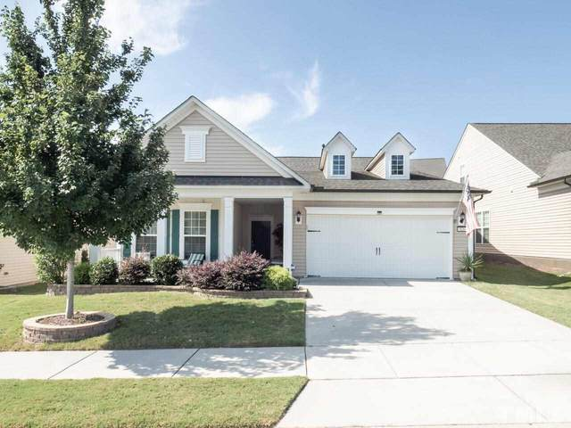 826 Downfield Lane, Fuquay Varina, NC 27526 (#2342000) :: Bright Ideas Realty