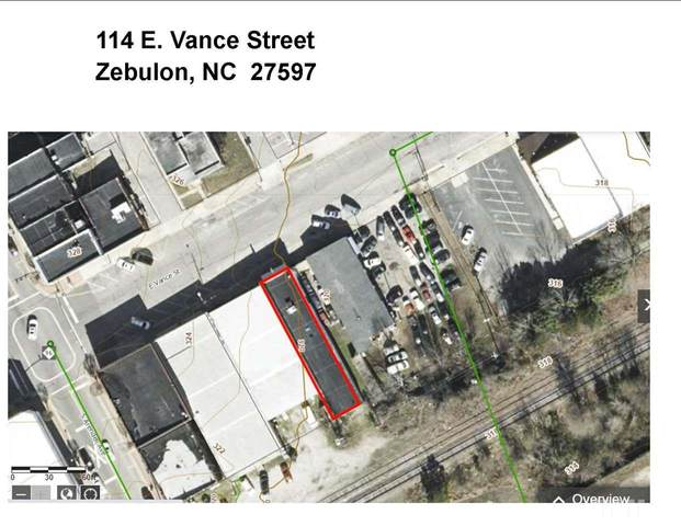 114 E Vance Street, Zebulon, NC 27597 (#2342530) :: RE/MAX Real Estate Service