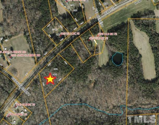 Lot 1 Old Nc 75 Highway, Oxford, NC 27565 (#2342709) :: Raleigh Cary Realty