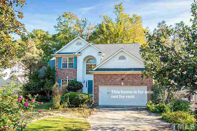 203 Fairchild Downs Place, Cary, NC 27518 (#2351652) :: Sara Kate Homes
