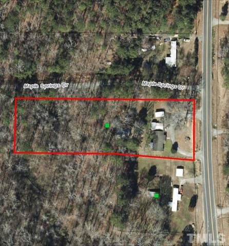 1736 LOT White Oak Church Road, Apex, NC 27523 (#2352518) :: Team Ruby Henderson