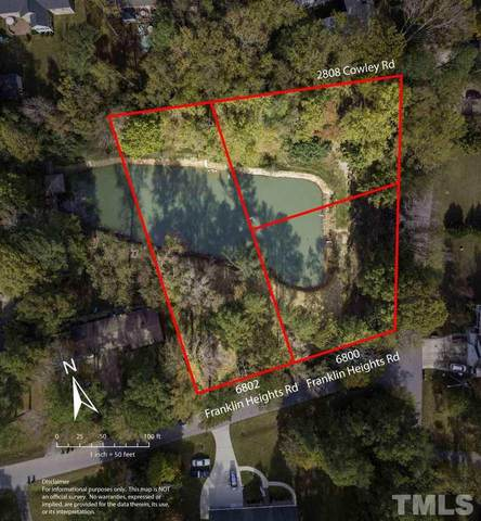 6802 Franklin Heights Road, Cary, NC 27518 (#2353836) :: Choice Residential Real Estate
