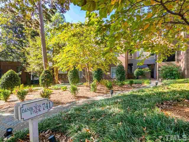 741 Bishops Park Drive #103, Raleigh, NC 27605 (MLS #2355552) :: The Oceanaire Realty