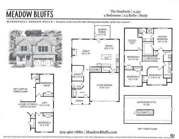 2812 Meadow Bluffs Way, Fuquay Varina, NC 27526 (#2356195) :: The Rodney Carroll Team with Hometowne Realty