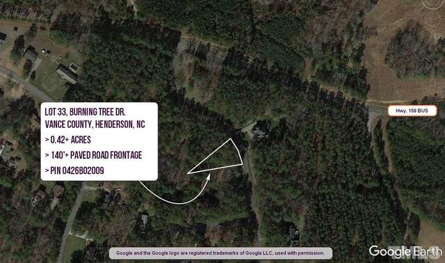 Lot 33 Burning Tree Drive, Henderson, NC 27537 (#2356354) :: RE/MAX Real Estate Service