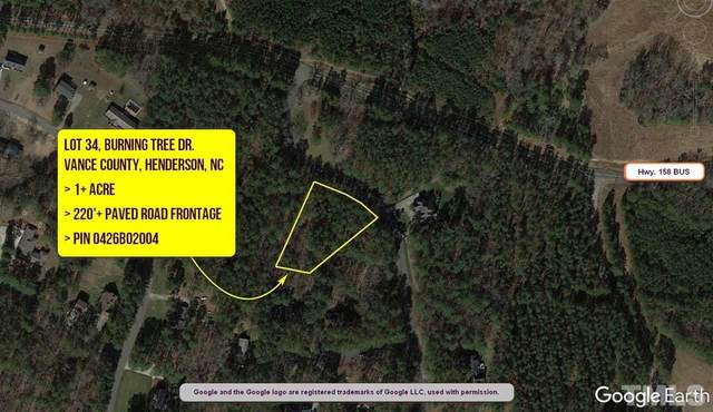 Lot 34 Burning Tree Drive, Henderson, NC 27537 (#2356377) :: RE/MAX Real Estate Service