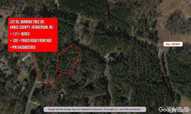 Lot 35 Burning Tree Drive, Henderson, NC 27537 (#2356399) :: RE/MAX Real Estate Service