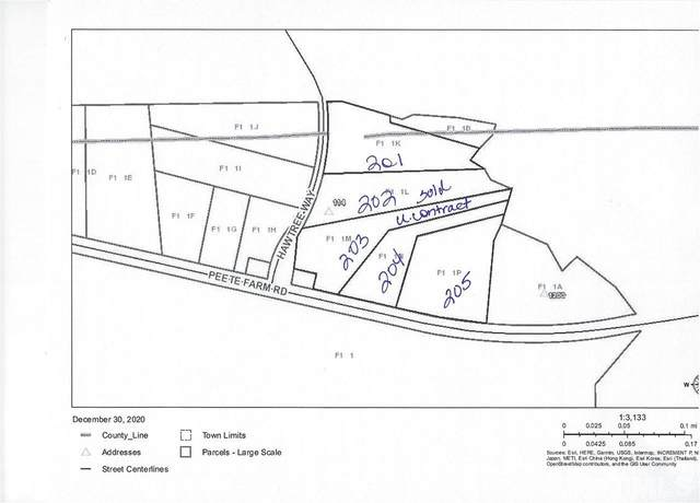 Lot 204 & 205 Peete Farm Road, Wise, NC 27594 (#2359493) :: Triangle Just Listed