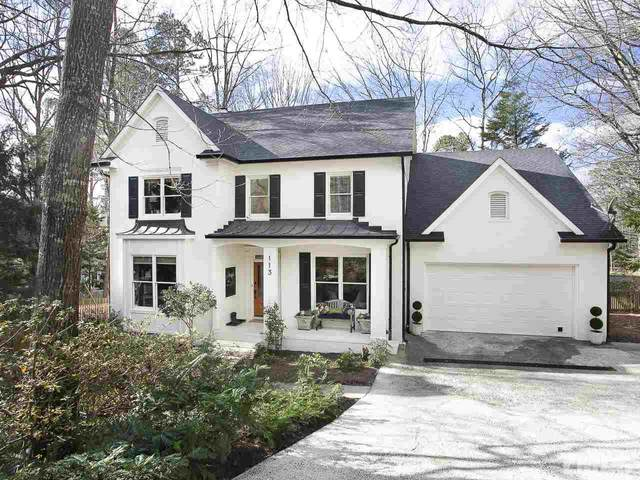 113 Bolton Place, Chapel Hill, NC 27516 (#2360556) :: Real Estate By Design