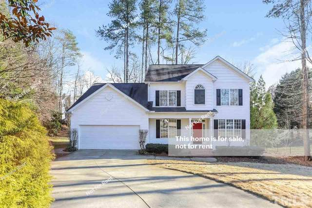 8909 Mossy Rock Way, Apex, NC 27539 (#2361283) :: Real Estate By Design