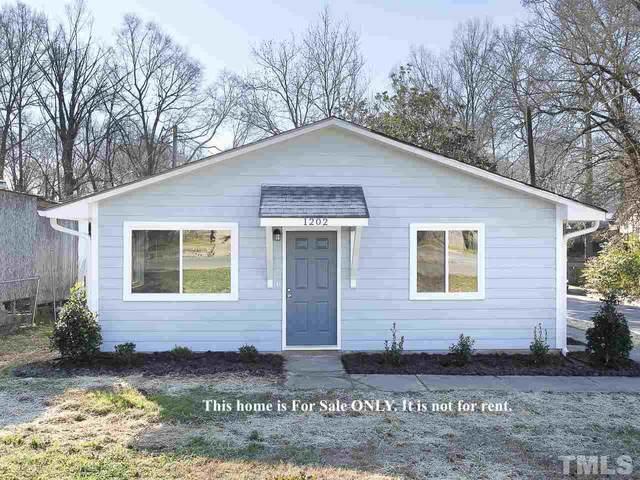 1202 Liberty Street, Durham, NC 27703 (#2361513) :: Real Properties