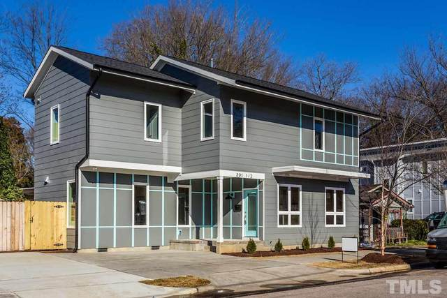 301 1/2 Bragg Street, Raleigh, NC 27601 (#2361555) :: Real Properties