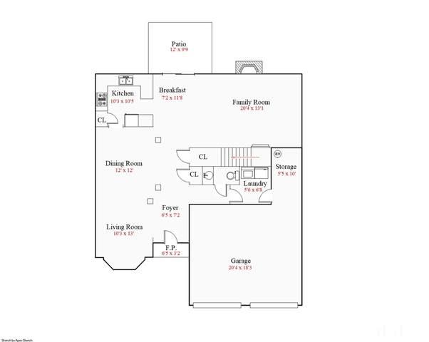 5720 Keowee Way, Raleigh, NC 27616 (#2362224) :: Real Estate By Design