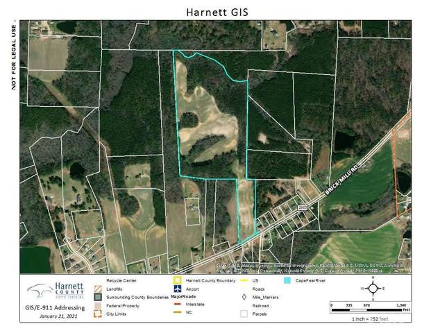 Brick Mill Road, Coats, NC 27521 (#2362692) :: The Rodney Carroll Team with Hometowne Realty