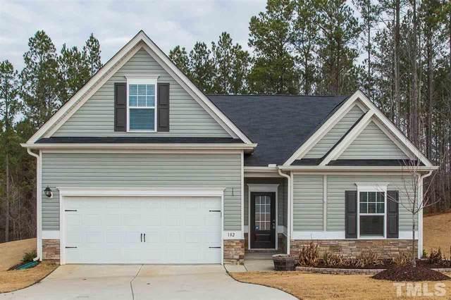 182 Deer Knoll Lane, Clayton, NC 27527 (#2363808) :: Real Properties