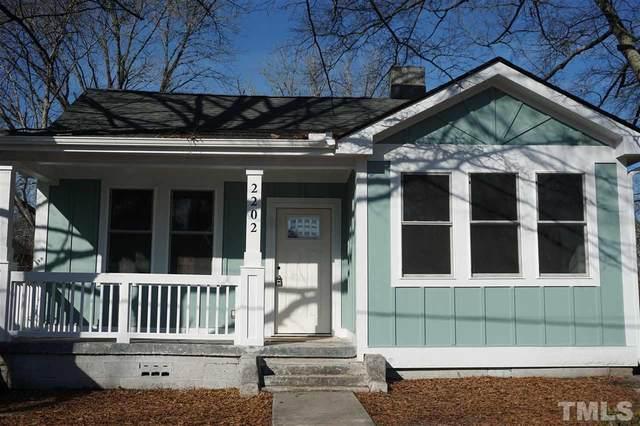 2202 Chautauqua Avenue, Durham, NC 27707 (#2364709) :: Raleigh Cary Realty