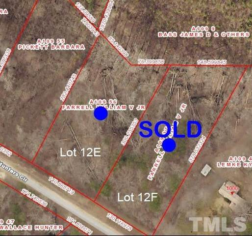 Lot 12E Hunters Circle, Rougemont, NC 27572 (#2365309) :: Saye Triangle Realty