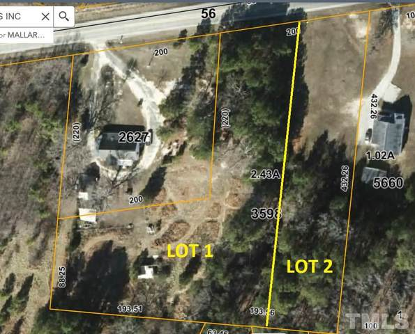 Lot 2 Nc 56 Highway, Creedmoor, NC 27522 (#2365690) :: The Results Team, LLC