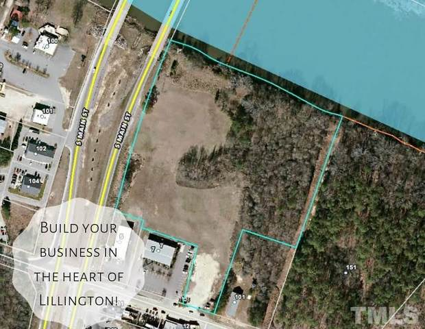 0 S Main Street, Lillington, NC 27546 (#2367347) :: Real Properties