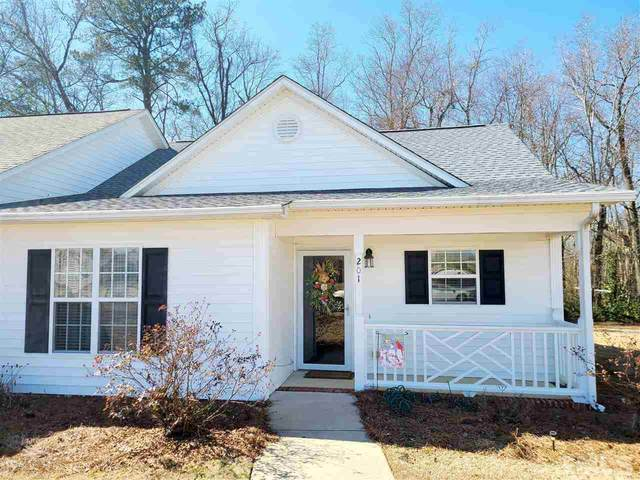 201 W Moss Creek Drive, Clayton, NC 27520 (#2367958) :: Triangle Just Listed