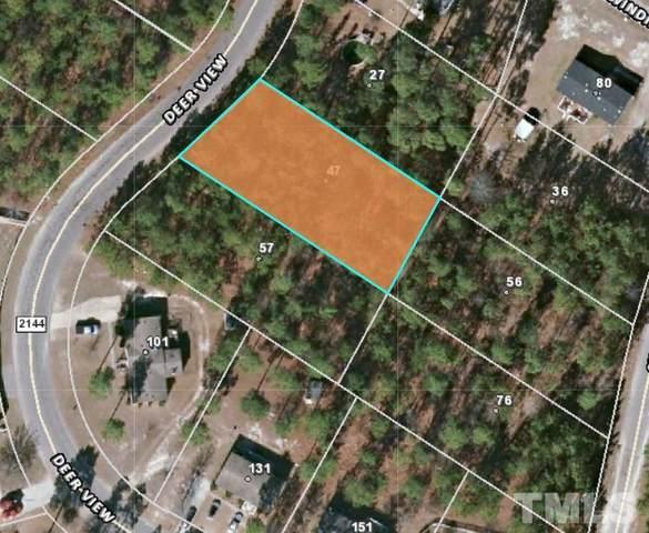 47 Deer View, Sanford, NC 27332 (#2368710) :: Triangle Top Choice Realty, LLC