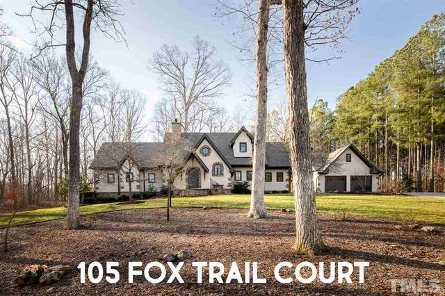 105 Fox Trail, Pittsboro, NC 27312 (#2369333) :: Real Estate By Design