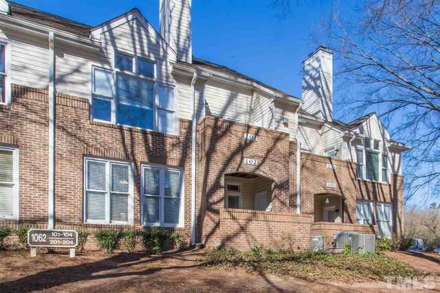 1062 Washington Street #102, Raleigh, NC 27605 (#2371725) :: Steve Gunter Team